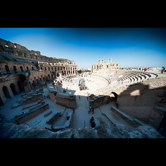 El Djem Amphitheatre (geirkristiansen.net.) Tags: ruins tunisia amphitheatre slaves emperor slave gladiator eljem djem eldjem mahdia sigma1224mmf4556 fightforyourlife