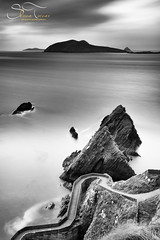 Dunquin Pier, Dingle Peninsula, different pov (mono) | Shane Turner Photography Tralee Co Kerry (Shane M Turner) Tags: ocean ireland sunset sea seascape reflection beach ferry landscape photography mono islands evening pier photographer crossing shane dingle an kerry atlantic lee filters peninsula turner dunquin blasket cokerry daingean irelanda