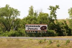 Wall Drug Billboard (the_mel) Tags: wall southdakota highway billboard advertisement donut doughnut drug 90 i90 walldrug