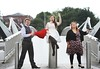 Pictured are Opera Singers from FLATPACK at the announce the Ikea opera opening ABSOLUT fringe festival. Photo: Sasko Lazarov/Photocall Ireland