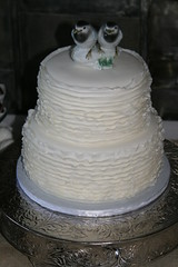 "Ruffle wedding cake • <a style=""font-size:0.8em;"" href=""http://www.flickr.com/photos/60584691@N02/7977187437/"" target=""_blank"">View on Flickr</a>"