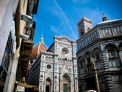 Basilica di Santa Maria del Fiore (vespir) Tags: sky italy church stone florence italia cathedral firenze ornate elaborate