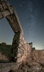 la bici 4 (silversaltphoto) Tags: nikon ruinas nocturna corral piedra vialactea d700