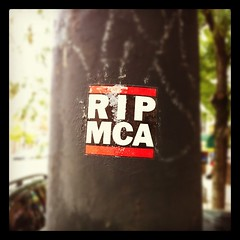 R.I.P. MCA (billy craven) Tags: chicago sticker memorial rip beastieboys mca slaptag uploaded:by=instagram