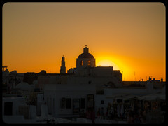Santorini , Greece (TOmShAhaR_PhOTo_) Tags: trip blue sunset summer white window tom bells island greek photography dawn volcano israel boat photo amazing nice nikon arch respect bell dusk september f16 santorini greece architcture f22 sep f56 f18 midday f8 oia vr thira 2012 18105 verynice 70300 neture greekisland tomason whitechurch f3556 vr2 cheurch d5100