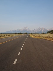 Highway-Grand Teton National Park-Wyoming (mikemellinger) Tags: road trees usa mountain mountains west nature beauty america landscape nationalpark highway scenery hill rocky wyoming grandtetons wilderness peaks range grandteton grandtetonnationalpark