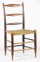 26. 19thc Painted Country Chair