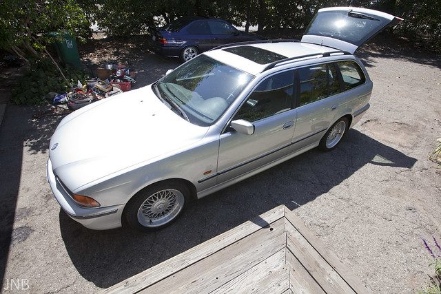 black silver wagon for sale bmw touring 528i 528 e39 528it