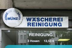 Mnz Wscherei Reinigung (Florian Hardwig) Tags: laundry storefront offenbach earsofwheat compactumlaut drycleaners integrateddiacritic