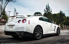 GTR (Alexandre Miliorana) Tags: street brazil white black cars japan brasil japanese nikon nissan ride awesome curitiba gt nikkor avenue cwb supercars gtr fastcars 18105 ctba d90 r35 batel 18135 d80 ctbaexotics