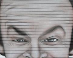 (e_alnak) Tags: urban streetart art lines paint character spray urbanart streetartist shutters spraypaint publicart aerosol graffeur jacknicholson oneflewoverthecuckoosnest akse postgraffiti ealnak
