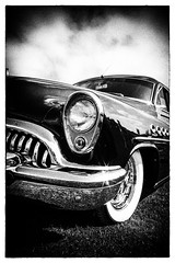 Capone (c_kreature) Tags: bw classic automobile angle low mint tire grill restored vehicle whitewall condition concoursedeelegance niksoftware benjaminsoto
