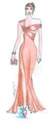 desenho de moda 147 (Marcia Machado Estilista) Tags: moda crayon texturas fashiondesign croquis lápisdecor vestidos rendas estilista desenhodemoda tendências modajovem collouredpencils