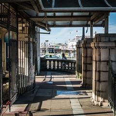 Aquarium View of the Pier (amipal) Tags: aquarium brighton england gb greatbritain palacepier pier sealifecentre street sussex uk