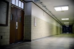 (John Donges) Tags: philadelphia bok historic vocational school closed doors long hallway 1941