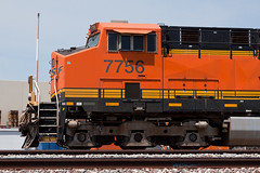 BNSF No. 7756 (jbp274) Tags: fullerton trains railroad tracks locomotive burlingtonnorthernsantafe bnsf generalelectric ge es44