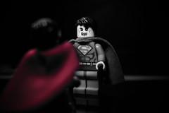 """you are not you, me am you"" Bizaro (Silverio Photography) Tags: lego minifig dc comics comiccon custom canon 60d 24mm pancake photoshop elements topaz adjust toy superman bizarro villian"