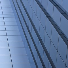 Simple Abstract No. 1 (No Great Hurry) Tags: polarisingfilter urbanabstract cityoflondon august2016 fade lighting light minimalism minimal canon robinbarr diagonal lines blue square architectural abstract liverpoolstreet broadgate robinmauricebarr nogreathurry kenshuttleworth outside monochrome outdoor