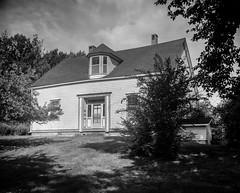 Campbell House 5 (chrism229) Tags: chamonix4x5 schneiderkreuznach 127mmf47 fp4 diafine hasselbladx1 largeformat film blackandwhite monochrome