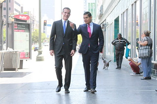 Miguel Santiago Endorsed by Mayor Eric Garcetti.