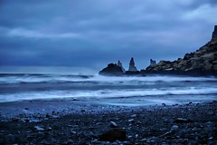 The monsters near Vik - staring at the winds and waves (PsJeremy) Tags: vik seaview longexposure iceland vikings waves winds harsh winters