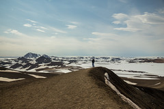 Krafla Viti Crater 23 (sarahmonious) Tags: kraflaviticrater kraftla viti myvatn kraftlavolcano volcanocrater crater hverir snow route1iceland route1 ringroad iceland iceland2016 icelanding2016 traveling