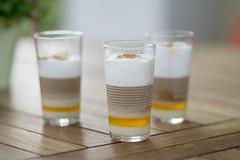 Barraquito (Eklis273) Tags: kaffee coffe milk milch liquor43 cinnamon lemonpeel drink getrnk trinken phasen sommer summer glser glasses sonya6000 samyang dof