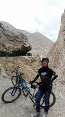 Adventure of a Lifetime (DPakistanOfficial) Tags: pakistan karakoram mountains range travel cyclist cycling tourism women adventure