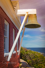 Pemaquid Point Lighthouse Fog Bell, Maine (crziebird) Tags: pemaquid lighthouse bell fog maine atlantic ocean