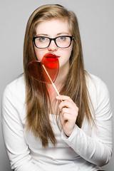 Red #1 (mateusz_kulawik) Tags: portrait portret woman kobieta dziewczyna red czerwony