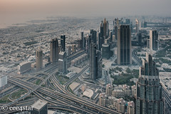 Dubai Skyline (cee4star) Tags: dubai building uae skyline fujifilm xpro2 city skyscrapers burj khalifa roads