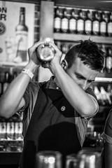 Jameson Cocktails3 (davidjhumphries) Tags: black white canon 5d 50mm f14 coctails whiskey jameson alcohol bartender barpub drink food dof dublin festival big grill 130816 0816 2016 herbert park