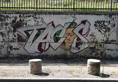 Tacos (HBA_JIJO) Tags: streetart urban vitry vitrysurseine art france hbajijo wall mur painting letters peinture lettrage lettres lettring writer paris94 spray tacos cigarette