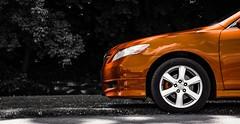 Pop. (SaltyDogPhoto) Tags: car colorsplash selectivecolor toyota camry vehicle automobile auto red photography reflection cyan rojo wheels blackandwhite bw bnw nikon nikond7200 nikonphotography nikkor nikkor1680mmf284eedvr saltydogphoto