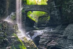 Rainbow Bridge (Firoz Ansari) Tags: ny newyork watkins watkinsglen fingerlakes longexposure glencreek gorge