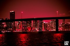 Miami Skyline Red