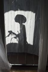 I want to believe (Prasina) Tags: shadow alien light dark indoor cool