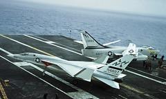 RA-5C  156627 + A3  138915 (TF102A) Tags: aviation aircraft usnavy kodachrome ra5c vigilante