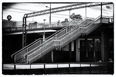 Treppen (Finn-Foto) Tags: silverefexpro2 nikfilter afnikkor85mmf18d finnland nikond700 nikoncnx2 hyvink uusimaa fin blackwhitephotos