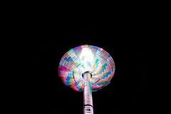 DSC02220 (Moodycamera Photography) Tags: canadiannationalexhibition cne toronto ontario nightphotography rides slowshutterspeed long exposurerlights ferriswheel swing turning twisting spining amusment horse hdr