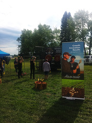 AWC Axe Throwing Booth (pokoroto) Tags: awc axe throwing booth  alberta canada  6   rokugatsu minazuki monthofwater 2016 28 summer june