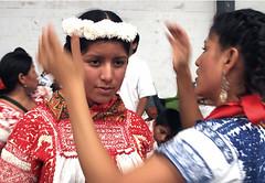 Tlaxcalancingo Women Puebla (Teyacapan) Tags: nahua blouses mexico puebla