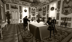Dinner at Schloss Rohrden (Nazeem Resident) Tags: roleplay role roles rp play pixels pictures project berlin german germany 1920s 1929 life sl secondlife second shadow society scenery