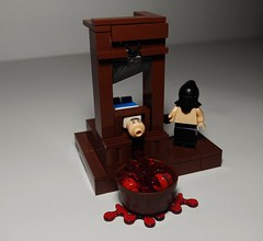 Guillotine  (Main) (D_Red8) Tags: citizenbrickcom citizenbrick dred8 inkenthusiast guillotine 1789 execution executionday headsup headsortails keepyourchinup whatalovelyday capitalpunishment capital punishment history blood