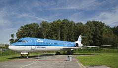 NCN-dag Aviodrome (Mary Berkhout) Tags: maryberkhout ncn 2016 aviodrome lelystad vliegtuig airplane klm cityhopper royaldutchairlines blue green nationalaviationthemeparkaviodrome
