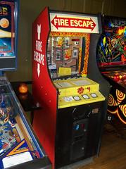 IL Chicago - Fire Escape (scottamus) Tags: classic vintage arcade game cabinet chicago illinois loganarcade fireescape mechtronic 1984