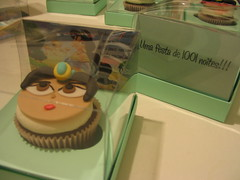 Convite Com Cupcake (Confetti & Cupcakes) Tags: cake bar spider cupcakes high mini confetti evento beb bolo casamento convite festa aniversrio ch aranha marmita drika homen monter personalizados novaes gostosos decorados