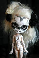 calavera y esqueleto