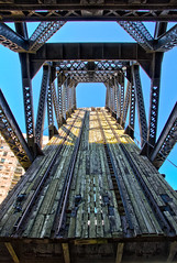 Chicago River Bridge (Brian.Buckler) Tags: bridge chicago canon river eos il adobe 7d handheld hdr 1585mm