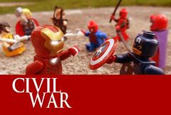 Civil war 03 (mateoluzardo) Tags: man america comics soldier war iron lego steve spiderman super tony civil captain hawkeye vs rogers thor marvel stark wolverine magneto invincible deadpool